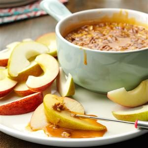 Butterscotch Fruit Dip Recipe