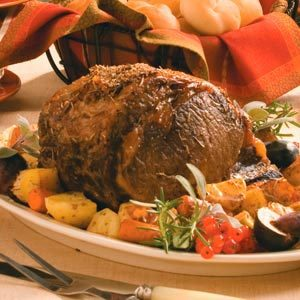 Herbed Italian Rib Roast Recipe