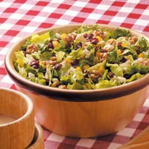 Giant Green Salad Recipe