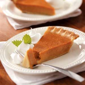 Pumpkin Pies for a Gang Recipe