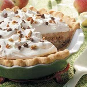 Taffy Apple Cheesecake Pie Recipe