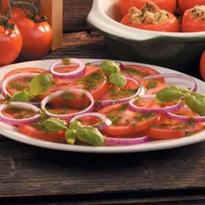 Easy recipe for tomato salad
