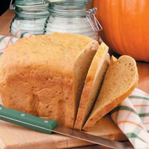 Soft Pumpkin Yeast Bread Recipe