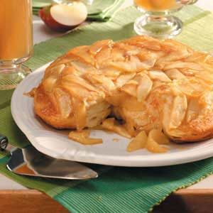 Apple-Topped Biscuits Recipe