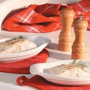 Halibut with Crab Sauce Recipe