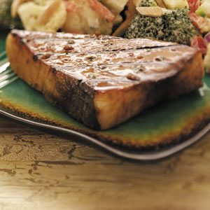 Soy-Ginger Grilled Swordfish Recipe