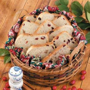 Cranberry Walnut Bread