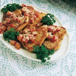 Rhubarb Pork Chop Casserole Recipe