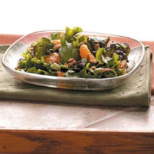 Almond-Orange Lettuce Salad