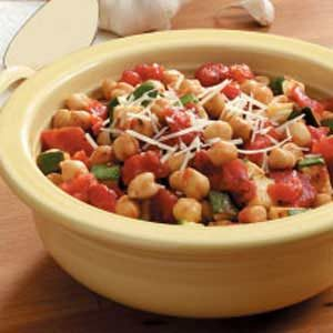 Garbanzo Bean Medley Recipe