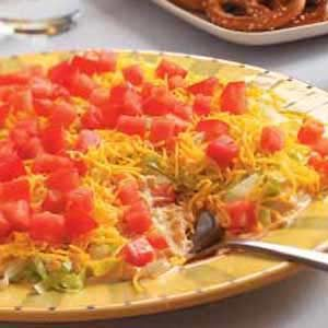 Quick Taco Dip Recipe
