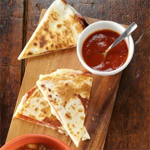 Pizza Quesadillas Recipe