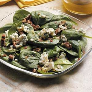 Pecan Spinach Salad Recipe