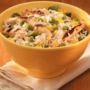 Chicken Rice Bowl Recipe