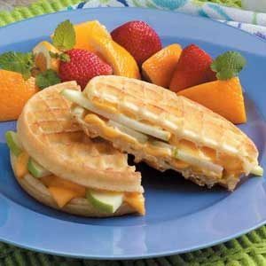 Apple Waffle Grills Recipe