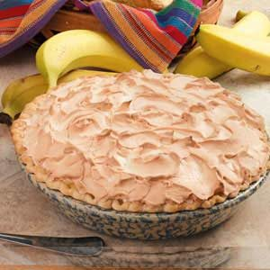 Banana Meringue Pie Recipe