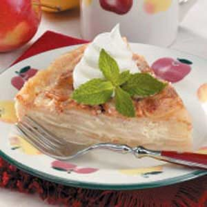 Apple Cream Tart Recipe