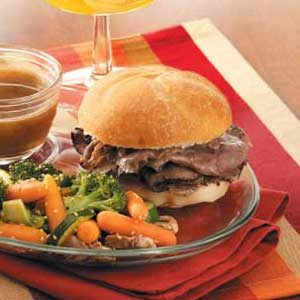 Fast French Dip Sandwiches Recipe
