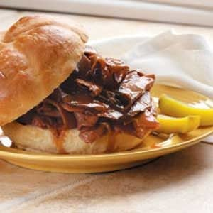 Roast Beef Barbecue Recipe