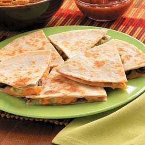 Cheddar Bean Quesadillas Recipe