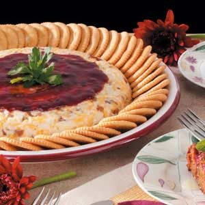 Raspberry Cheese Spread Recipe