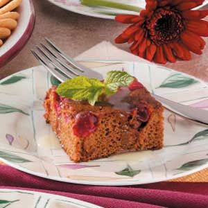 Cranberry Molasses Cake Recipe