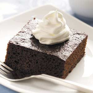 Old-Fashioned Molasses Cake Recipe