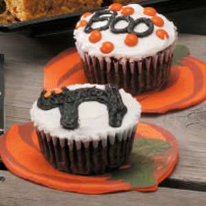 Spooky Chocolate Cupcakes Recipe