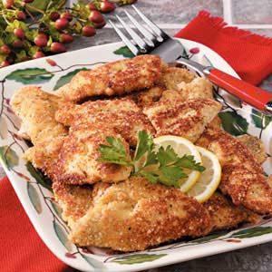 Fried Bluegill Fillets Recipe