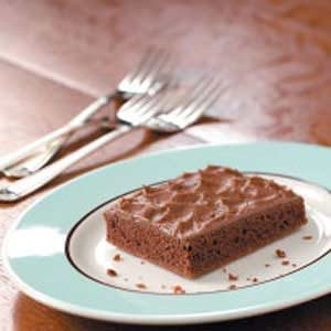 Makeover Chocolate Texas Sheet Cake Recipe