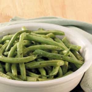 Herbed Fresh Green Beans Recipe