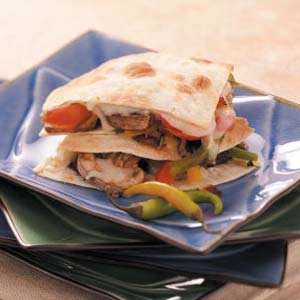 Pepper Steak Quesadillas Recipe