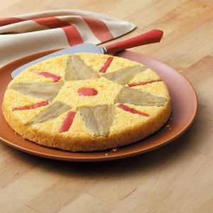 Quilt-Topped Corn Bread Recipe