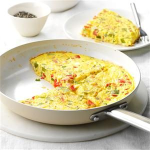 Calico Pepper Frittata Recipe