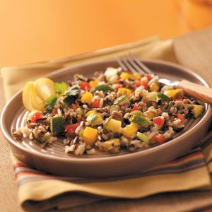 Sweet Pepper Wild Rice Salad