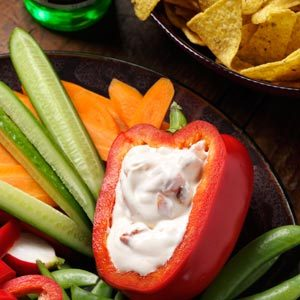Roasted Red Pepper Dip Recipe