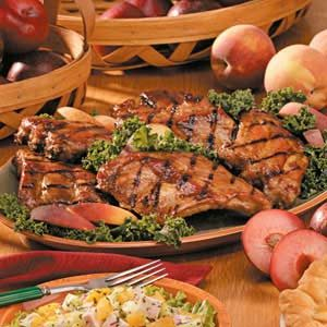 Peach-Glazed Ribs Recipe