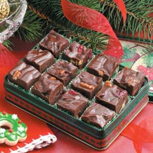 Cranberry Nut Fudge Recipe