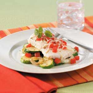 Orange Roughy Italiano Recipe