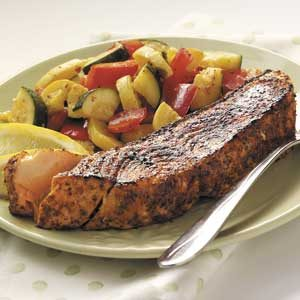 Sauteed Spiced Salmon Recipe