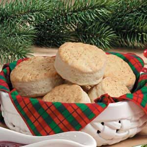 Eggnog Biscuits Recipe