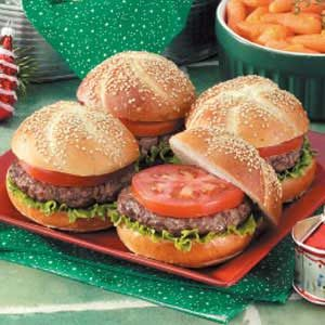 German-Style Hamburgers Recipe