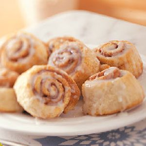 Morning Cinnamon Rolls Recipe