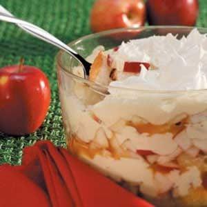 Luscious Apple Trifle Recipe