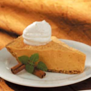 Pudding  Pumpkin Pie Recipe
