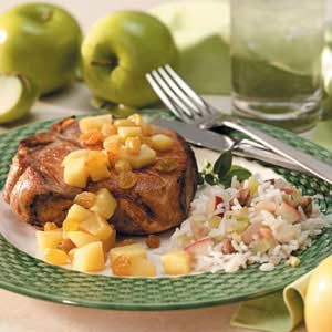 Walnut Apple Rice Recipe