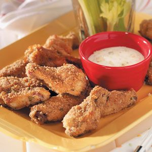 Crispy Chicken Wings Appetizer