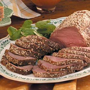 Sesame Beef Tenderloin Recipe