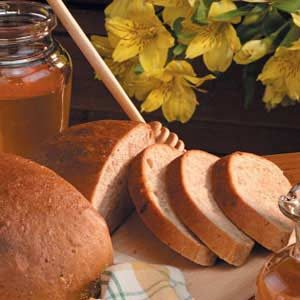 Honey Wheat Bread with Raisins Recipe