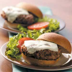 Ranch-Style Pork Burgers Recipe